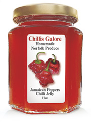 Jamaican Peppers Chilli Jelly